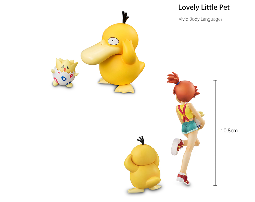 BEILEXING Japanese Animation Character Animal Model Set 10.8cm Tall Statue for Collection Decoration
