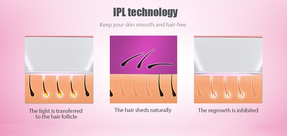 MLAY M3 IPL Hair Removal System Safe Pulsed Light