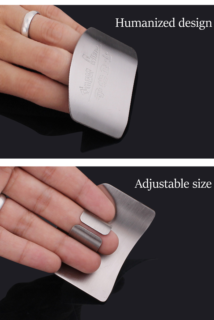Domestic Kitchen Cook Tool Chopping Vegetables Finger Guard for Protecting Your Fingers