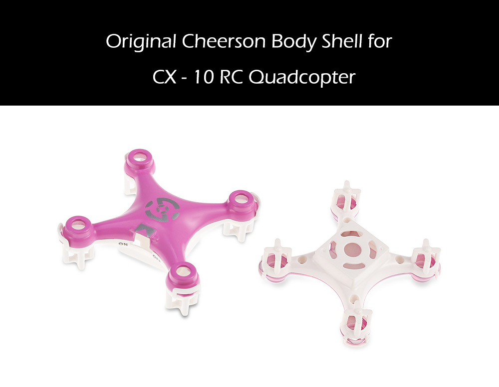 Cheerson CX - 10 RC Quadcopter Spare Part Body Shell Cover Set