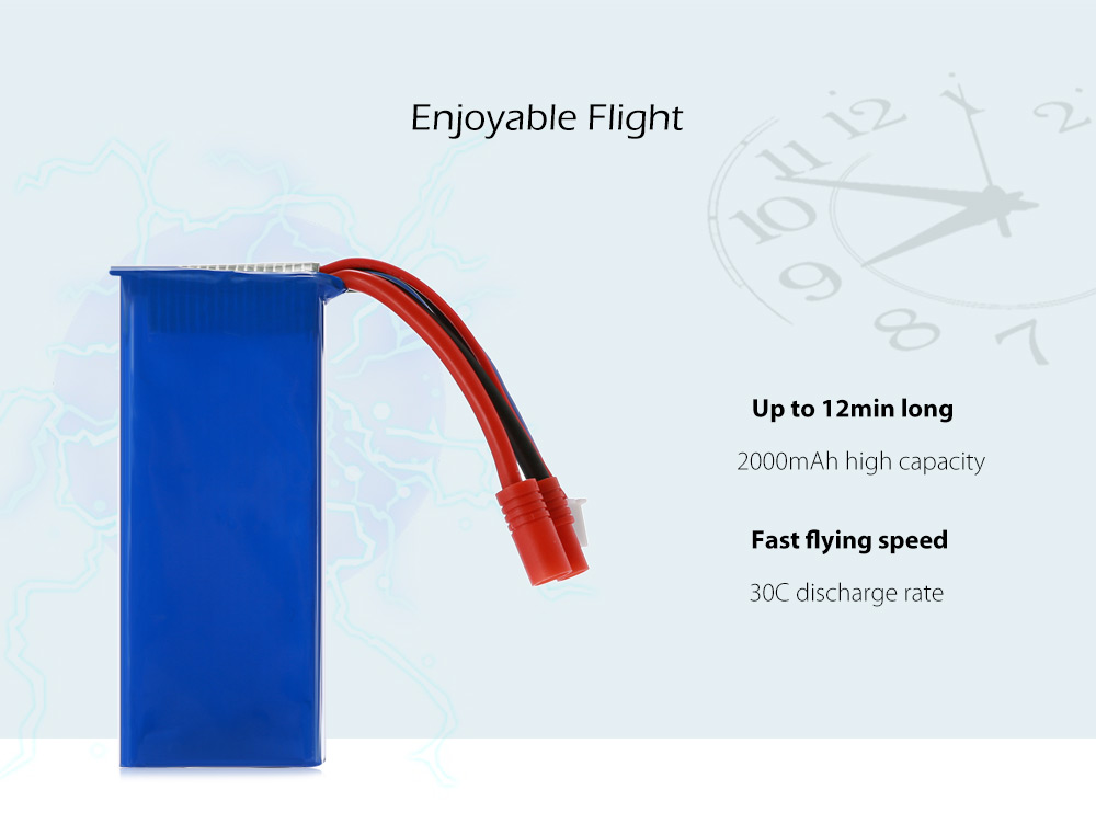 Rechargeable 7.4V 2000mAh for SYMA X8C X8G X8HG RC Quadcopter