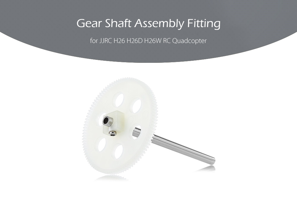 Gear Shaft Assembly Accessory for JJRC H26 H26D H26W Quadcopter
