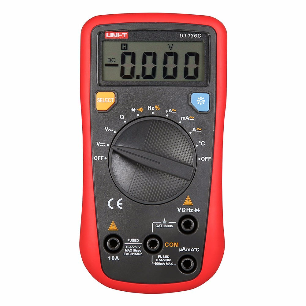 UNI - T UT136C Auto Range Digital Multimeter Palm Tool