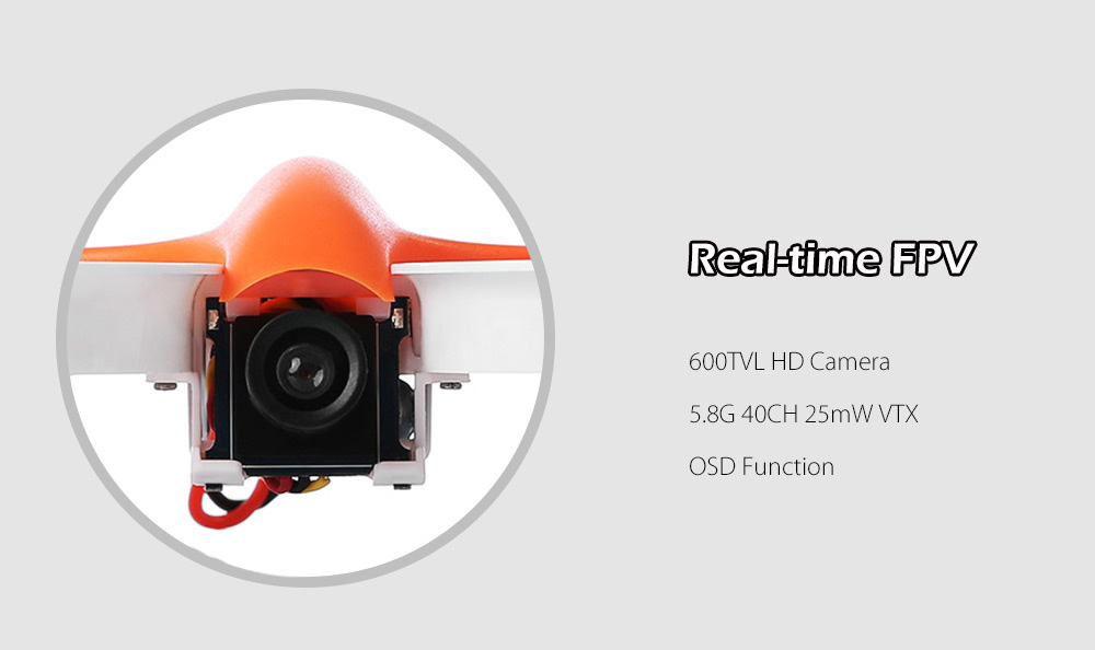 Warlark 80 80mm Micro FPV Racing Drone PNP 5.8G 600TVL with Scisky F3 Brushed FC OSD