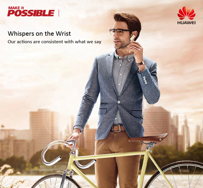 HUAWEI TalkBand B2 Water Resistance Wireless Headset Wristband Hand-free Calls Bluetooth Dialer Motion Recognition