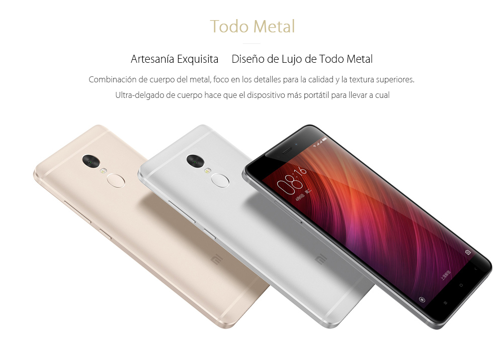 Xiaomi Redmi Note 4 Phablet 4G