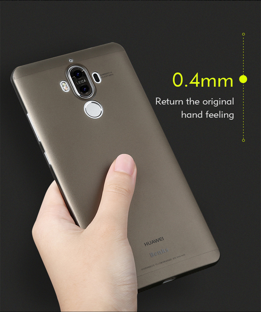 Benks PP Ultra-thin Phone Protective Case for HUAWEI Mate 9 Anti-fingerprint Protector
