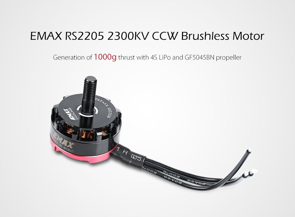 Emax RS2205 2300KV Racing Edition Brushless CCW Motor Accessory for Multicopter