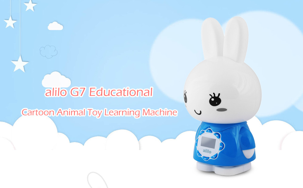 alilo G7 Educational Cartoon Animal Toy Intelligent Children Learning Machine