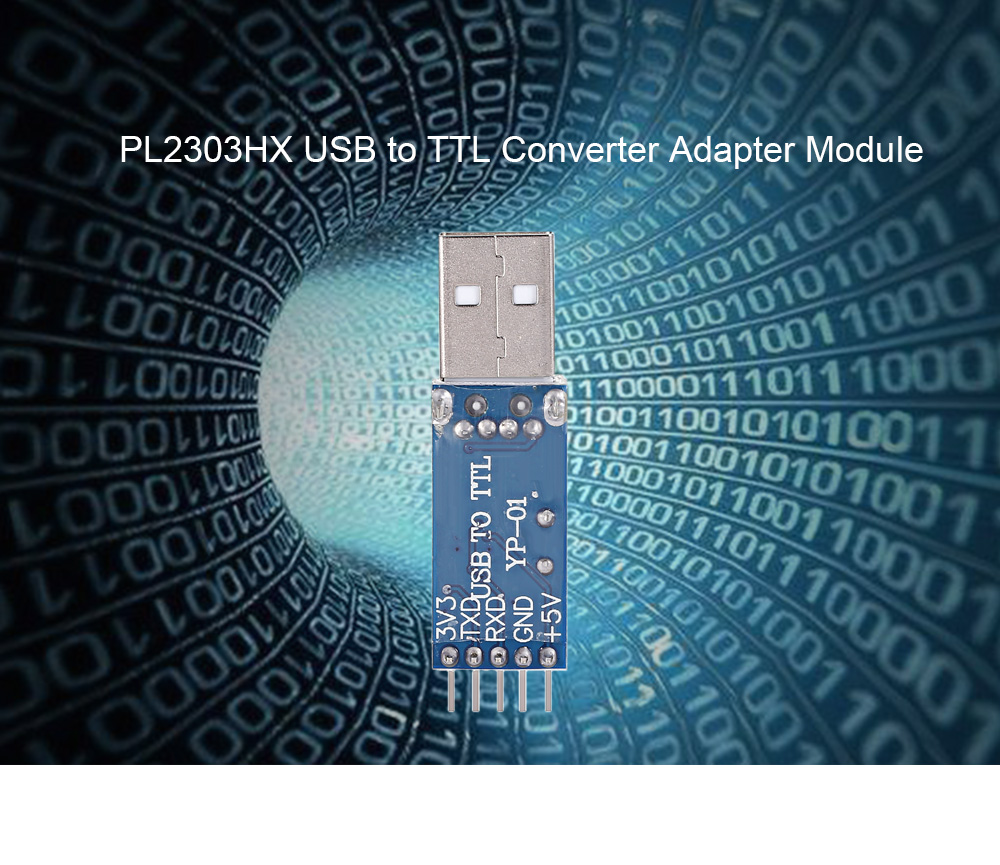 PL2303HX USB to TTL Converter Adapter Module for DIY