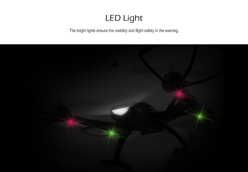 JJRC JJPRO X2 Brushless RC Drone RTF 2.4GHz 4CH 6-axis Gyro / Speed Switch / Fixed-point Landing
