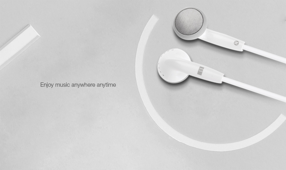 Original Meizu EP - 21 In-ear Earphone with 3.5mm Jack 1.2m Audio Cable
