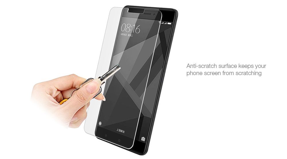 Luanke Tempered Glass Screen Film for Xiaomi Redmi 4X Ultra-thin Explosion-proof Protector