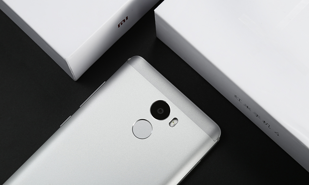 Xiaomi Redmi 4 MIUI 8 5.0 inch 4G Smartphone Snapdragon 625 Octa Core 2.0GHz 3GB RAM 32GB ROM Fingerprint Scanner 13MP Rear Camera 4100mAh Battery Bluetooth 4.2