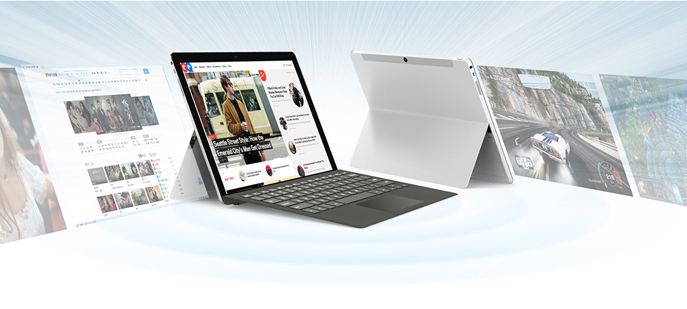 Teclast TL - T5 Separable Keyboard with Magnetic Docking for Teclast X5 Pro / TBook 12s