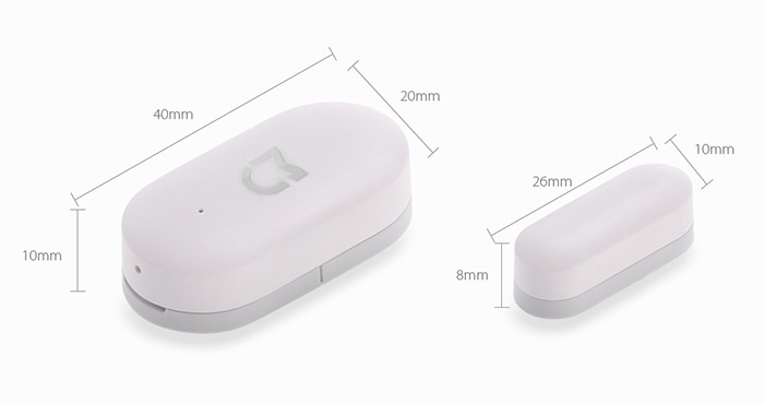 Original Xiaomi Smart Windows Door Sensor Intelligent Home Security Equipment with Smartphone Control