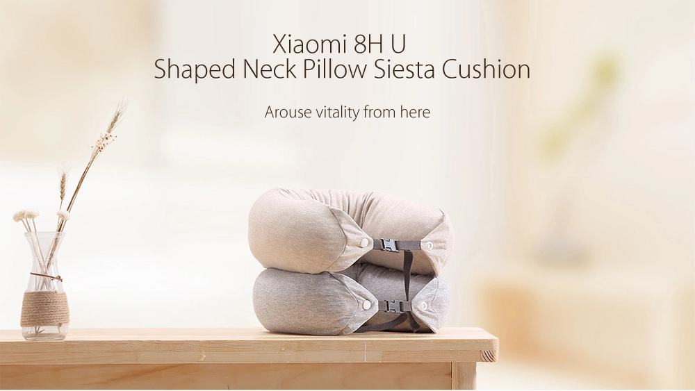 Xiaomi 8H Soft U Shaped Neck Protection Pillow for Travel
