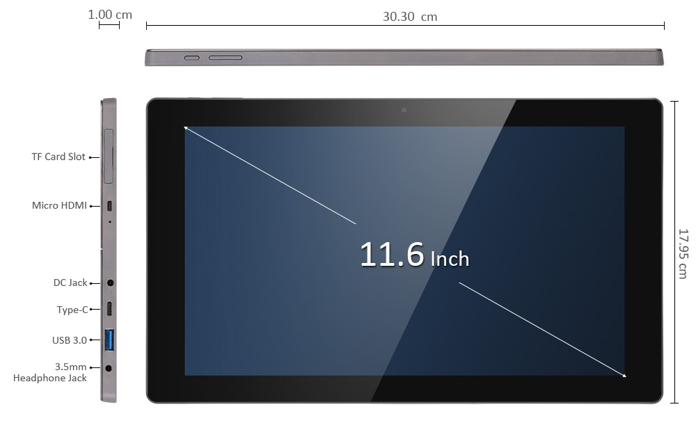 Teclast Tbook 16 Potenza Tablet PC