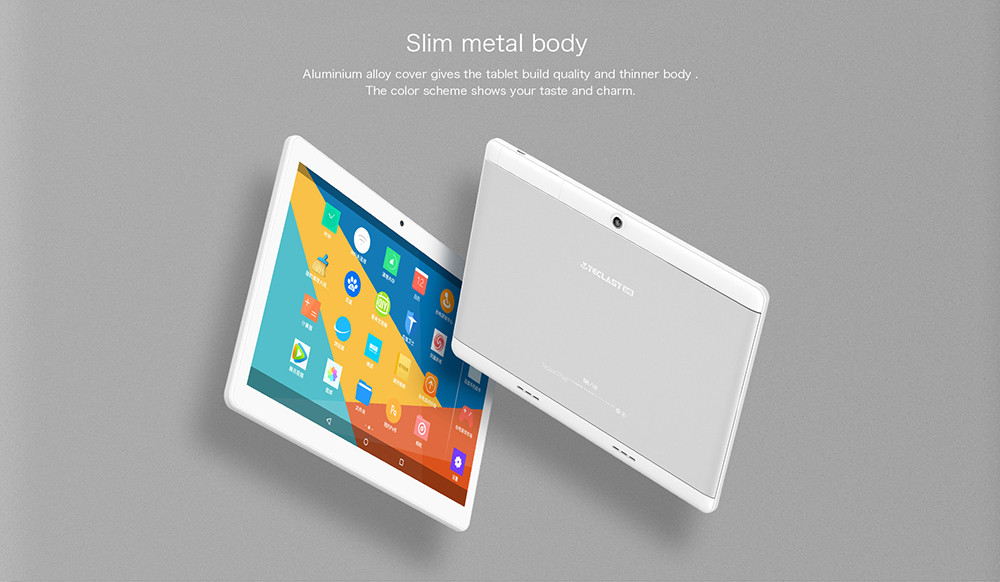 Teclast 98 Octa Core Dual 4G Phablet Android 6.0 10.1 inch IPS Screen MTK6753 1.5GHz 2GB RAM 32GB ROM 5.0MP Main Camera