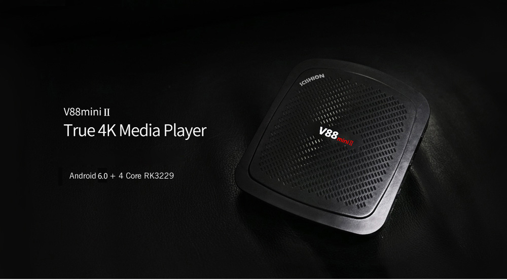 SCISHION V88 mini II TV Box RK3229 4 Core Android 6.0 2GB + 8GB