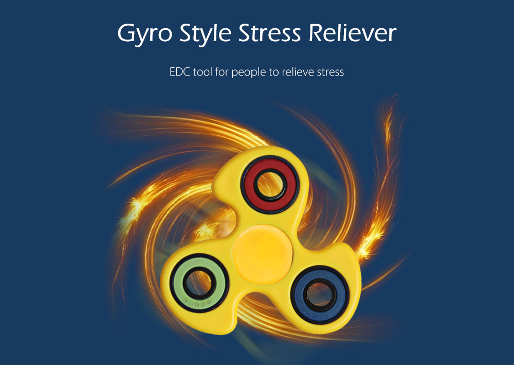 608 ABS Gyro Style Stress Reliever Pressure Reducing Toy for Office Worker