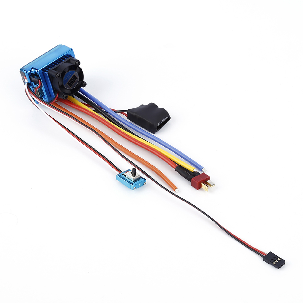 TSKY 120A Sensored Brushless Speed Controller ESC for 1/8 1/10 1/12 Scale RC Car Crawler