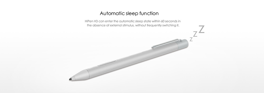 Original Chuwi HiPen H3 Textured Metal Dual-chip Stylus for Chuwi Hi13