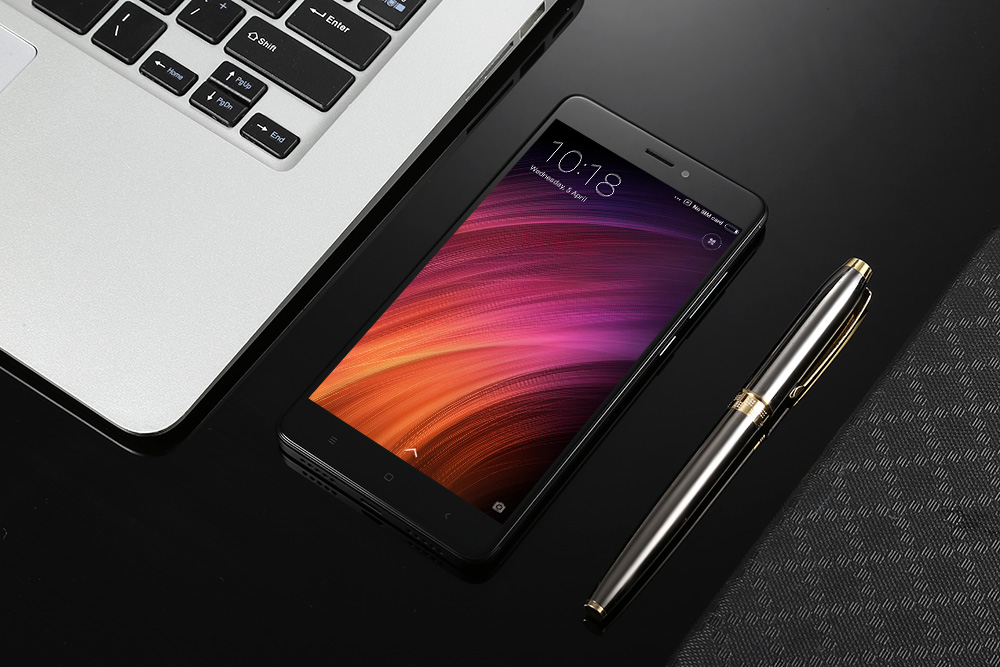 Xiaomi Redmi Note 4 4G Phablet Android 6.0 5.5 inch Snapdragon 625 Octa Core 2.0GHz Fingerprint Scanner 5.0MP + 13.0MP Cameras