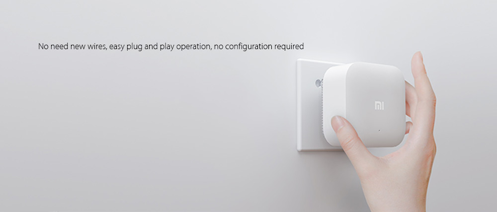 Original Xiaomi 300M WiFi HomePlug Mi Smart Home App Control