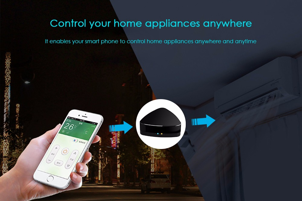 Broadlink RM plus WiFi IR RF Remote Controller Timing Function for Home