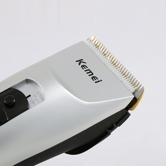 Kemei KM-1201 Rechargeable Cordless Electric Hair Clipper Machine Kit