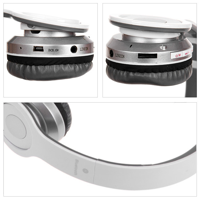S460 Foldable Wireless Bluetooth Headphone Headset Support Hands Free TF Card FM MP3 for iPhone 6 / 6 Plus Samsung HTC etc.