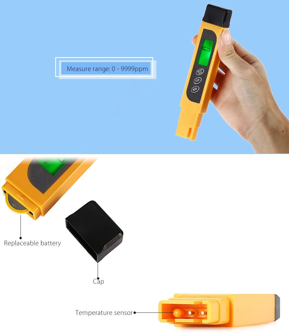 YL - TDS2 - A Portable TDS Water Quality Tester Pen