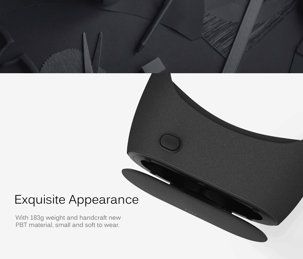 Original Xiaomi PLAY2 3D 360 Degree Virtual Reality Helmet Glasses for 4.7 - 5.7 inch Smartphones