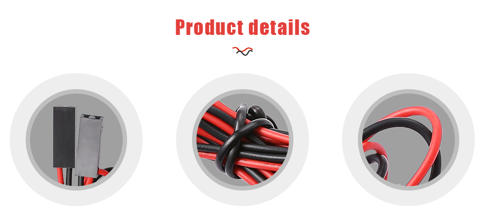 LDTR - YJ028 / A 2 - Pin Female to Female Breadboard Connector Cable for Arduino / 3D Printer