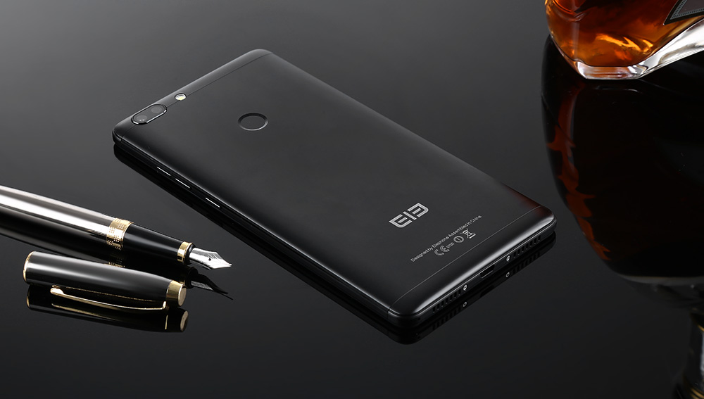 Elephone C1 Max 4G Phablet 6.0 inch Android 7.0 MTK6737 Quad Core 1.3GHz 2GB RAM 32GB ROM 5.0MP + 13.0MP Dual Rear Cameras Full Metal Body