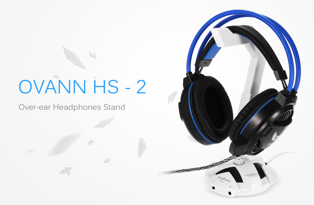 OVANN HS - 2 Multifunctional Over-ear Headphones Holder with EQ Function