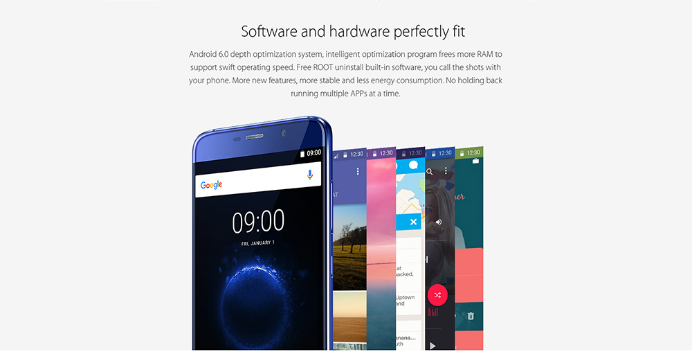 Elephone S7 5.5 inch 4G Phablet Android 6.0 Helio X25 Deca Core 2.0GHz 4GB RAM 64GB ROM 13.0MP + 5.0MP Cameras Fingerprint Sensor
