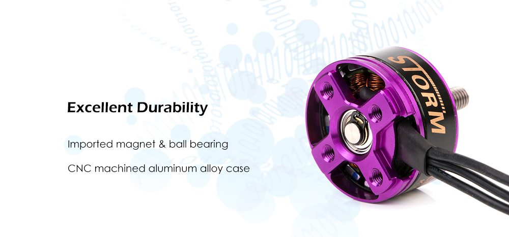 dys STORM 2207 2300KV Brushless Motor 1.3kg Maximum Thrust / 3 - 6S LiPo Support