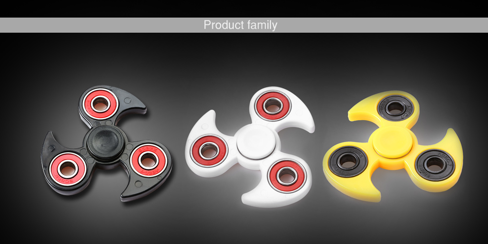 Fly-wheel Gyro Fidget Spinner Stress Reliever Pressure Reducing Toy for Office Worker