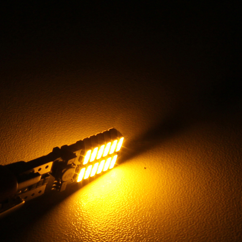 MZ T10 4.8W 720LM 24 SMD 4014 LED Decoding Error-Free Canbus Car Clearance Lamp