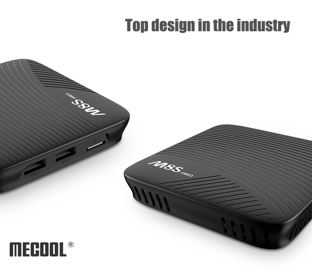 MECOOL M8S PRO Android 7.1 TV Box 2GHz ARM Cortex-A53 CPU 64bit Media Player