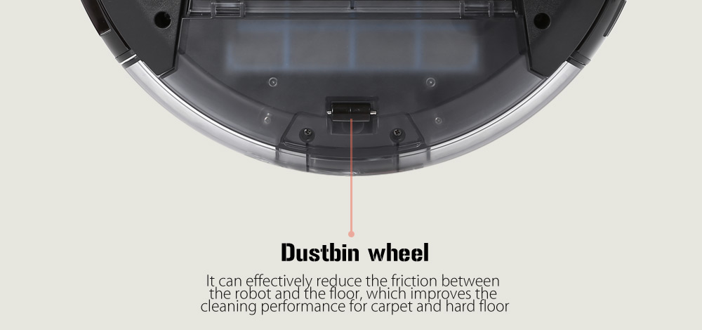ILIFE A6 Smart Robotic Vacuum Cleaner Cordless Sweeping Cleaning Machine Self-recharging Robot