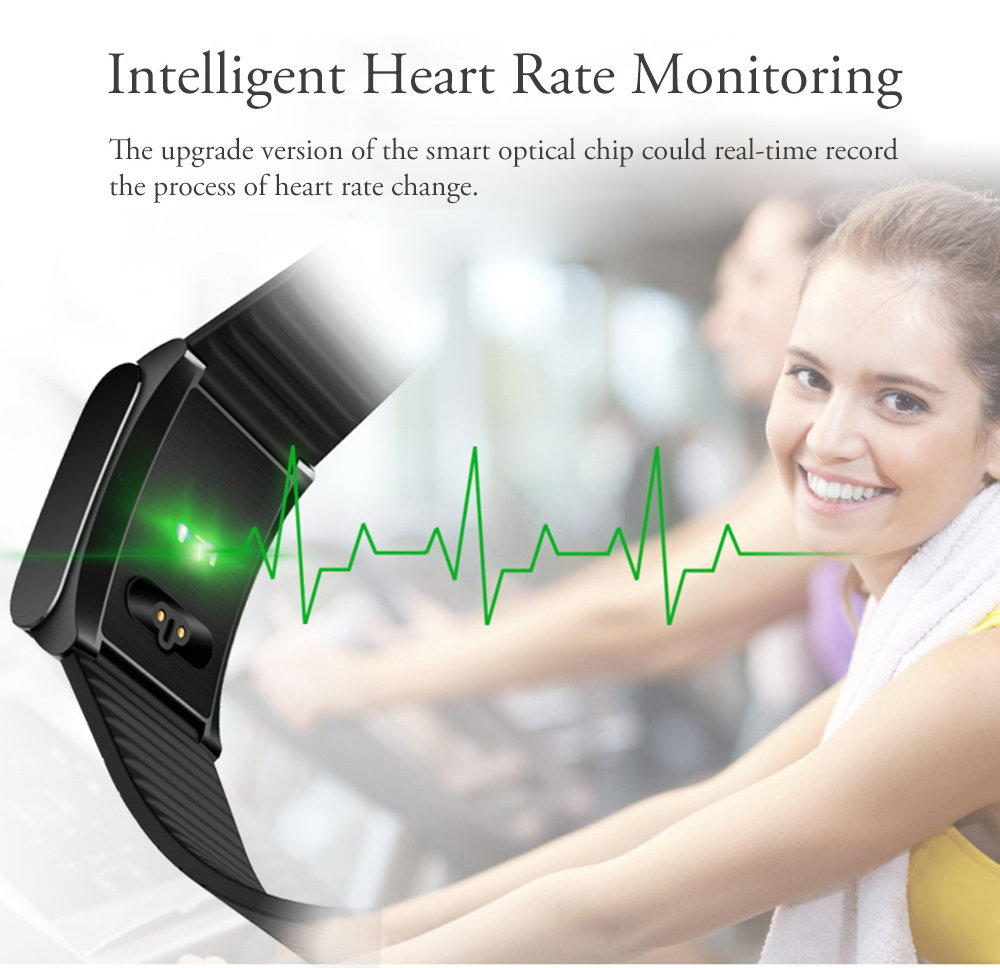 Sample X9 Plus BLE 4.0 Heart Rate Smart Wristband Blood Pressure Oxygen Monitor Bracelet