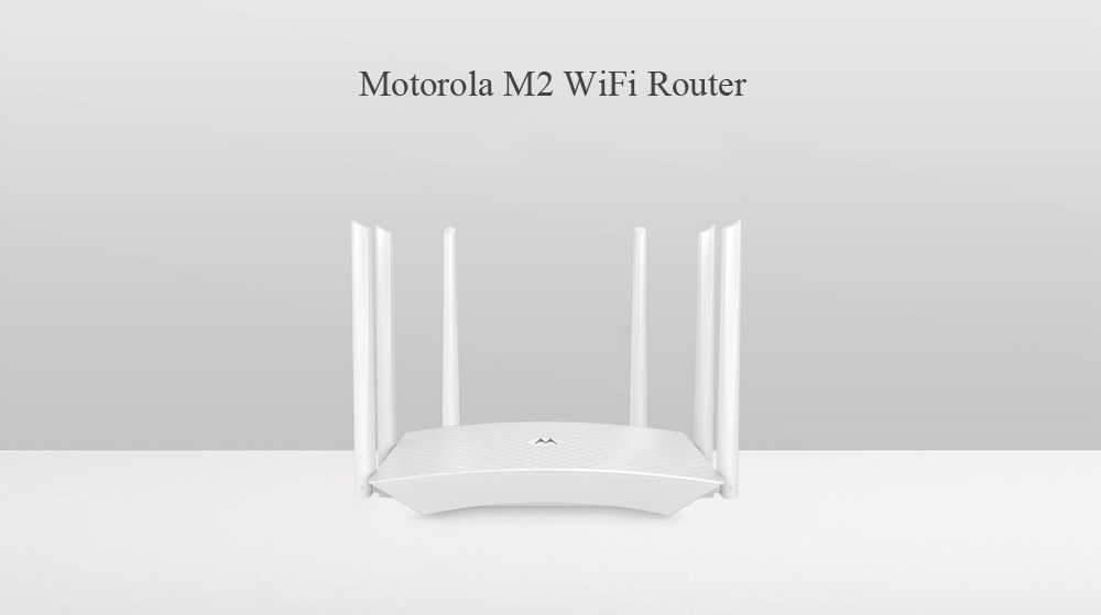 Motorola Wifi Router with 5dBi Antenna 6 M2 1700Mbps