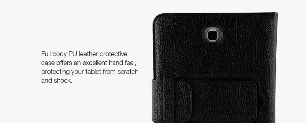 PU Leather Protective Bluetooth Keyboard Case for Samsung Galaxy Tab A 8.0 ( T350 )