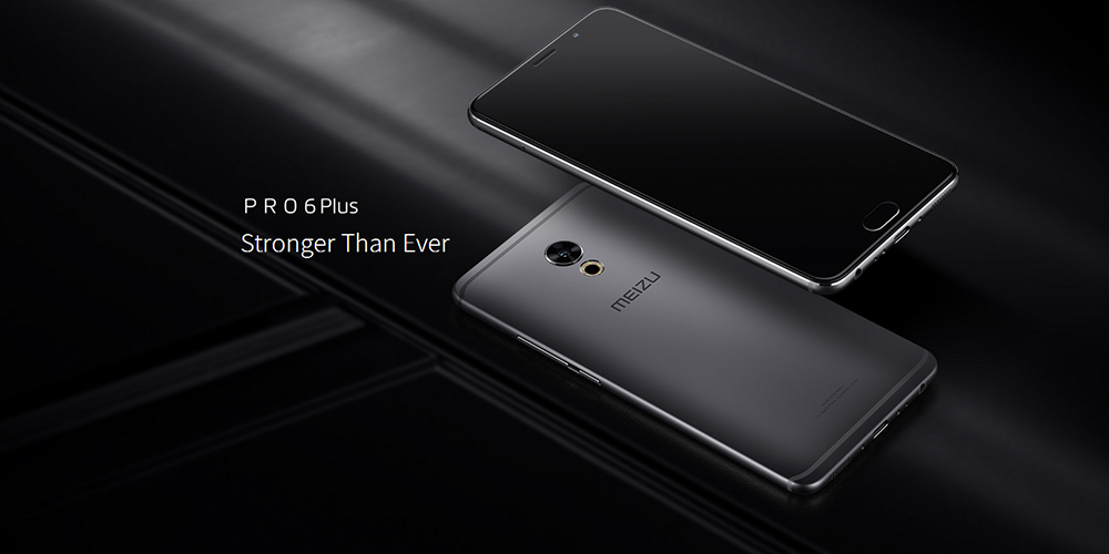 MEIZU Pro 6 Plus 5.7 inch Android 6.0 4G Phablet Exynos 8890 Octa Core 2.3GHz 4GB RAM 128GB ROM Fingerprint Scanner HiFi E-compass Heart Rate Measurement