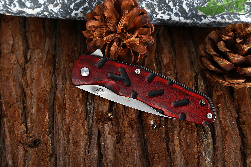 Enlan L04 Liner Lock Folding Knife with 8Cr13MoV Stainless Steel Blade