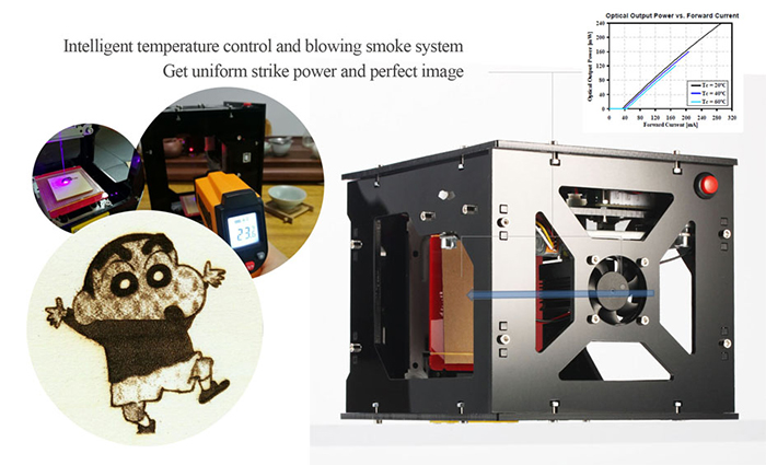 NEJE DK-8 Pro-5 High Power Laser Engraver Printer Machine 500mW for Cellphone Case