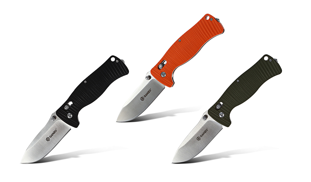 Ganzo G720 Folding Knife Window Breaker Multifuntional Tactical Tool with 440C Blade